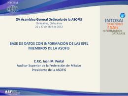 Proyecto de Base de Datos para la ASOFIS
