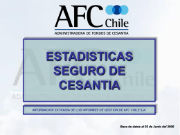 cotizantes - AFC Chile