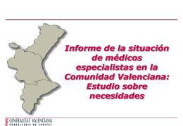 Presentación base Agéncia Valenciana de Salut