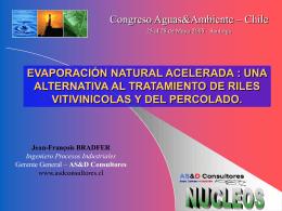 evaporación natural