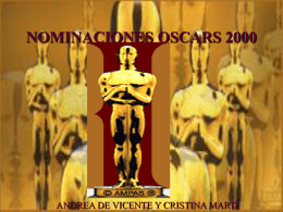 oSCARS2 - I like the idea