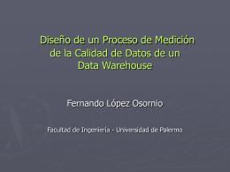 Presentación - Fernando López Osornio
