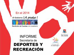 4_DEPORTES - Gobernación de San Andrés, Providencia y