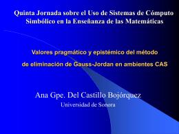 Presentación PPT - Universidad de Sonora