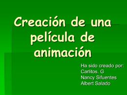 Creación de una película de animación