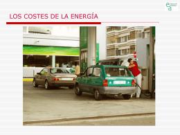 Costes de la energía y precio del dinero