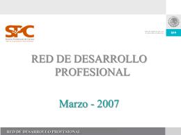 desarrollo profesional y plan individual de carrera (pic).