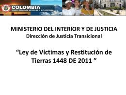 Presentación Andrea León López, Asesora Dirección de Justicia