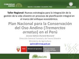 En el Perú - Programa BIOCAN