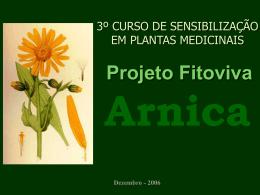 Seminário Arnica - Fazenda do Cerrado