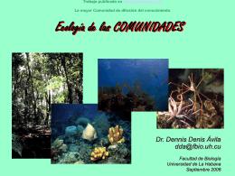 Ecologia de las Comunidades