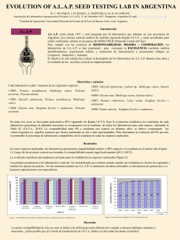 Afiche ampliado II - Laboratorios ALAP