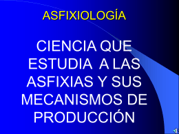 ASFIXIAS - Justicia Forense