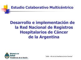 Avances - Comisión Nacional Salud Investiga