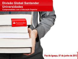 nos Prêmios Santander Universidades