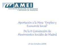 Las empresas de inserción como apuesta contra la exclusión social