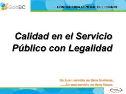CONTRALORIA GENERAL DEL ESTADO