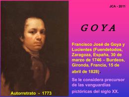 GOYA - Juan Cato