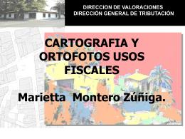 Cartografía y ortofotos, usos fiscales