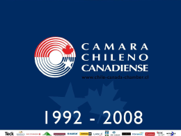 The Canadian Way - camara chileno canadiense