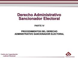 DASE IV - Tribunal Electoral del Estado de Nuevo León