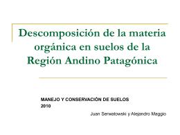 Presentación Manejo-SERWATOWSKY Y MAGGIO