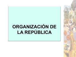 organizaciondelarepublica