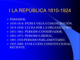 REGLAMENTOS CONSTITUCIONALES II