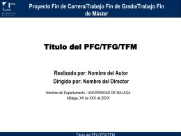 Contenido 2 - Universidad de Málaga