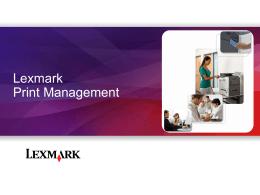 1 - Lexmark