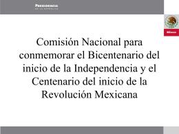 Festejos del Bicentenario de la Independencia y