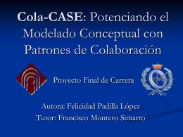 Potenciando el Modelado Conceptual con Patrones de Colaboración