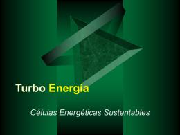 Proyecto: Turbo Energía