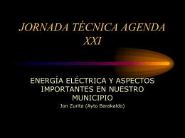 Energía eléctrica - Agend 21 Escolar
