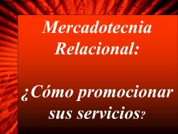 Mercadotecnia Relacional