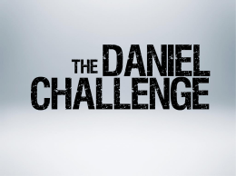 rayos UV - The Daniel Challenge