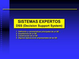 Sistemas Expertos - Inteligencia Artificial