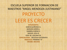 LEER ES CRECER PAWER POINT