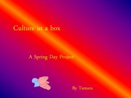Culture in a box