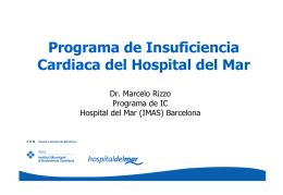 (Barcelona). Dr. Marcelo Rizzo