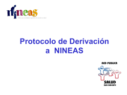 Protocolos de Derivación a NINEAS