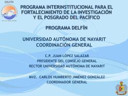 programa delfín - Internacionalización y Colaboración