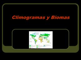 Climogramas y Biomas - ies picos de urbión