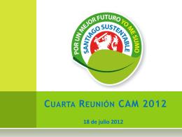 1° REUNIÓN CAM 2012