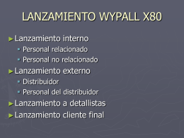 COMO LANZAR WYPALL X80