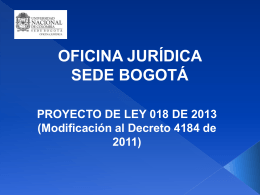 presentación - Sede Bogotá UN