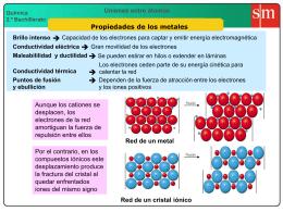 5 Propiedades de los metales