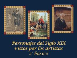 Personajes del siglo XIX vistos por los artistas