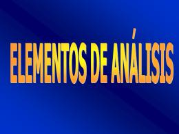 nuevos elementos de analisis
