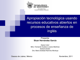 Hernandez Stuar - Cátedra de investigación e innovación en
